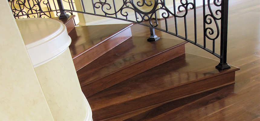 Mesquite Stair Treads Mesquite Stairs