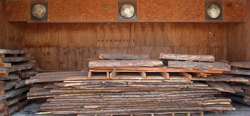 Mesquite Wood and Lumber Mill Drying process