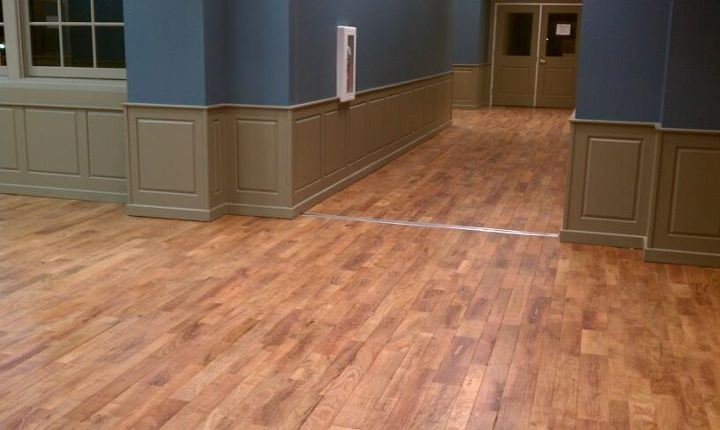 Mesquite strip flooring
